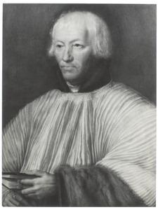 Portret van een geestelijke (twijfelachtig geïdentificeerd als Jean Carondelet)