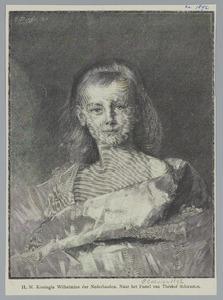 Portret van prinses Wilhelmina
