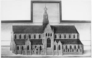 De Sint Bavokerk te Haarlem