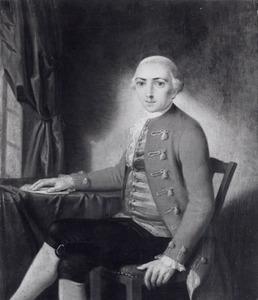 Portret van Hendrik Isaac Guitard (....-1791)
