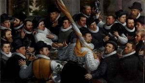 Schutters van de Kloveniersdoelen te Haarlem, 1583