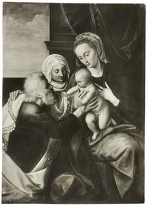 De Heilige Familie en de H. Anna