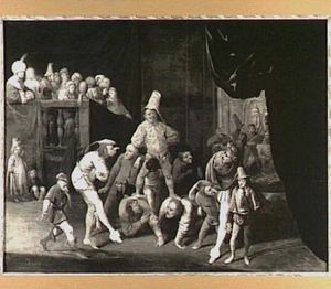 'Triomf der zotheid' of 'Brutus als Zot voor Tarquinius'