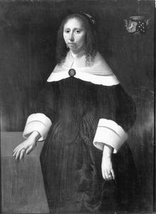 Portret van Johanna Folckers, echtgenote van Regnerus Tjaerda