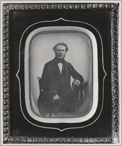 Portret van Jacob Julianus Snouck Hurgronje (1812-1870)
