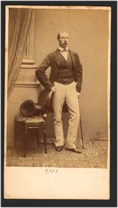 Portret van J.H. Weissenbruch (1824-1903)