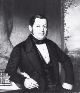 Portret van Adrianus Anthonie Vinju (1799-1860)