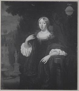 Portret van Cornelia van Hunthum (1634-1721)