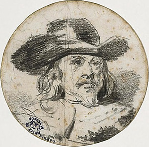 Portret van Frans Banning Cocq uit de Nachtwacht