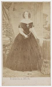 Portret van Anna Paulowna Romanov (1795-1865)