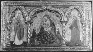 Madonna met heiligen en twee donoren