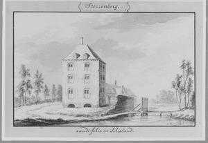 Rechter- en achterzijde van Sterrenberg (of Starrenburg) bij Overschie