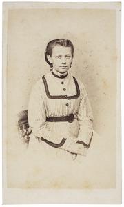 Portret van Rosalie Adrienne Marie van Elk (1852-1872)