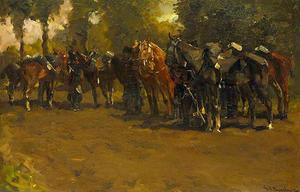 Rustende cavalerie