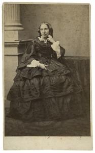 Portret van Margaretha Hermina Ferdinanda Hubrecht (1811-1897)