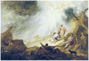 De verkondiging aan de herders