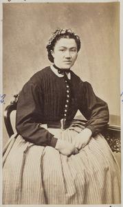 Portret van een vrouw uit familie Drost