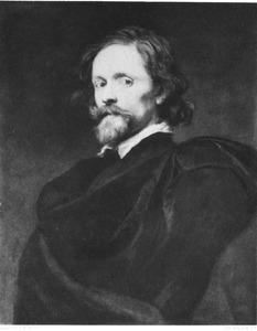 Portret van de graveur Lucas Vorsterman I (c. 1595-1675)