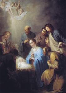 De aanbidding der herders (Lucas 2:15-18)
