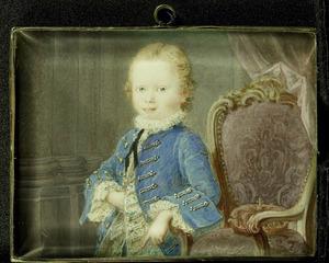 Portret van Willem V van Oranje- Nassau (1748-1806)