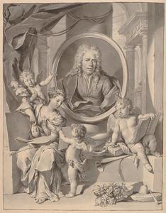Allegorisch portret van Carel Borchaert Voet (1671-1743)