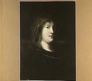 Borststuk van een jonge vrouw, gewoonlijk gezien als Saskia van Uylenburch