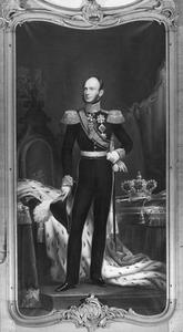 Portret van Willem II van Oranje- Nassau (1792-1849)