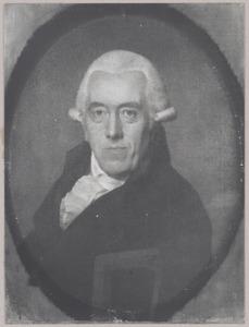 Portret van Samuel Egbert Croiset (1734-1816)