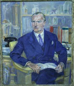 Portret van J.H. Moltzer (1883-1951)