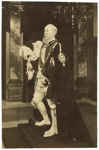 Panopticum met beeld van Willem III van Oranje- Nassau (1817-1890)