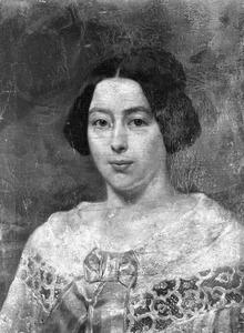 Portret van de vrouw van J.H. Egenberger