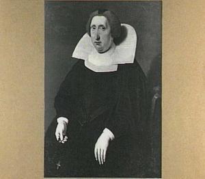 Portret van Jel of Juliana van Liauckama (1585-1650)