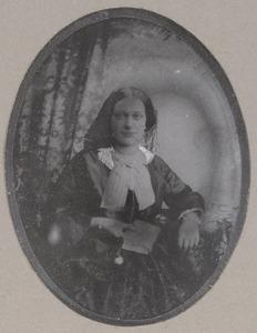 Portret van Johanna Maria de Graaff (1830-1872)