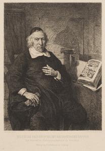 Portret van Isaac Commelin (1598-1676)