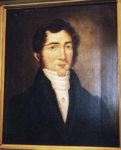 Portret van Jan Nicolaas Adriaan de Coningh (1794-1868)