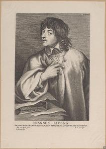 Portret van Jan Lievens (1607-1674)