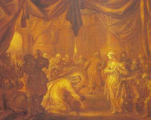 Christus en de overspelige vrouw (Johannes 8:2-11)