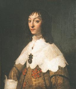 Portret van Johanna Barbara de la Kethulle (....-1686)