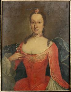 Portret van Johanna Dorothea de Coutier (1713-1774), echtgenote van Johan Casper van Pabst