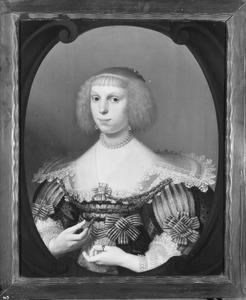 Portret van Maria Strick (1618-1656)