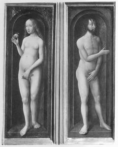 Eva biedt Adam de Verboden Vrucht aan (Genesis 3:6)