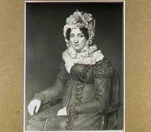 Portret van Fenna Hesselink (1779-1848), echtgenote van Pier Zeper