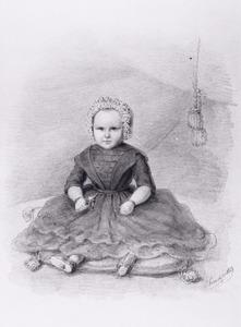 Portret van Wilhelmina Hendrika Henriette J. Rappard (1852-1921)