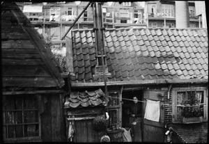 Achterkanten van huizen te Amsterdam