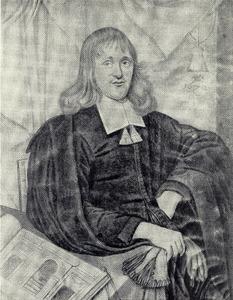 Portret van Jacob Vennekool (1632-1673)