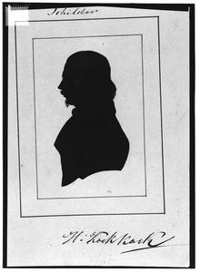 Portret van Hermanus Koekkoek (1815-1882)