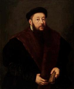 Portret van een man, mogelijk Paulus I Behaim (1519-1668)