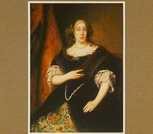 Portret van een vrouw, mogelijk Catharina de Vries (1656-1708)