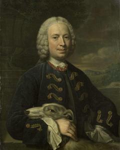 Portret van Coenraad des H.R. Rijksgraaf van Heemskerk (1713-1773)