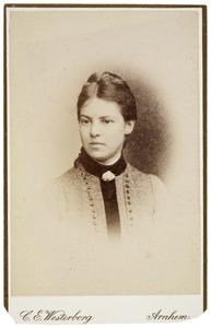 Portret van Wilhelmina Samuela Tilanus (1869- )